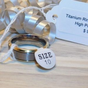 Other - 👻MEN'S TITANIUM RING